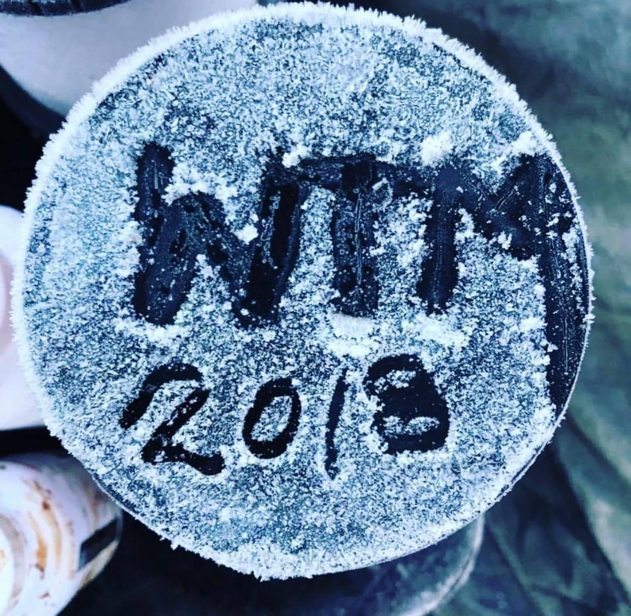 """""""WTM 2018"""" geschrieben in Reif"""